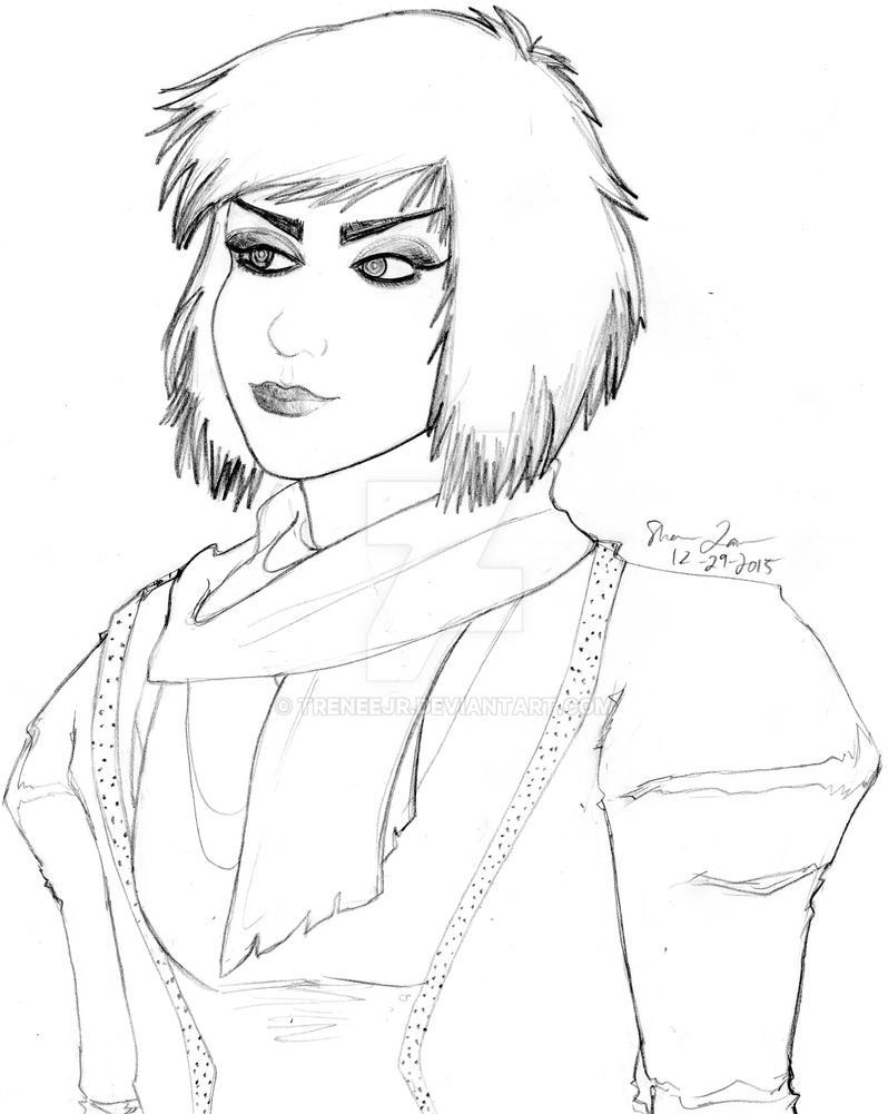 Natisha Portrait by TreneeJr