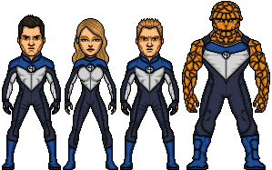 Fantastic Four (Marvel Earth-616-19999) by LoganWaynee