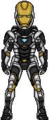 Iron Man - Deep Space Armor by LoganWaynee
