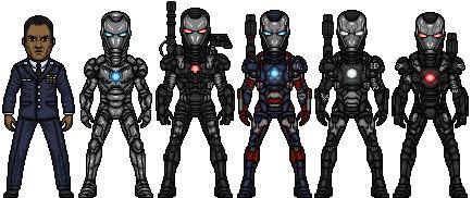 War Machine (Marvel Earth-61619)