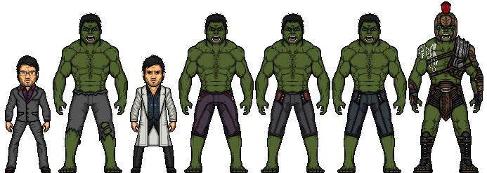 The Hulk (Marvel Earth-61619) by LoganWaynee