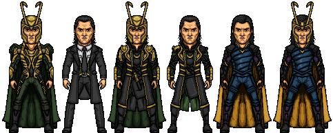 Loki (Marvel Earth-61619) by LoganWaynee