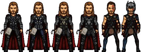 Thor (Marvel Earth-61619) by LoganWaynee