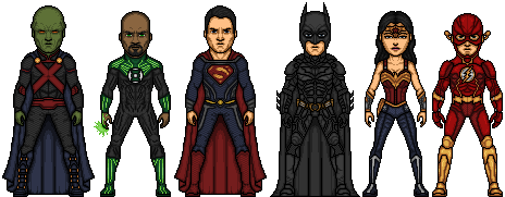 Justice League project by LoganWaynee