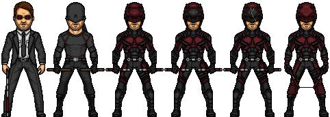 Daredevil (Marvel Earth-61619) by LoganWaynee