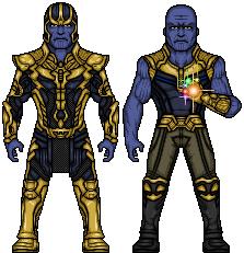 Thanos (Marvel Earth-61619) by LoganWaynee