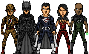 Justice Lords (Pre-Flashpoint DCCU) by LoganWaynee