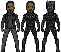 Black Panther (Marvel Earth-61619) by LoganWaynee