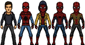 Spider-Man (Marvel Earth-61619) by LoganWaynee