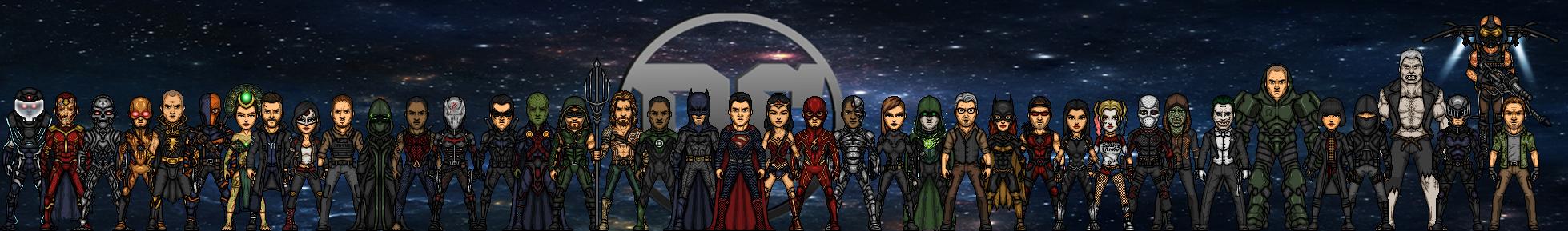 DC Cinematic Universe Timeline by LoganWaynee