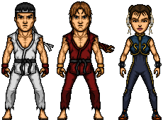 Street Fighter by LoganWaynee