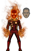 Firestorm I (DCCU) by LoganWaynee