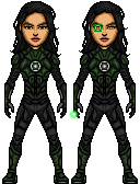 Green Lantern [Jessica Cruz] (DCCU) by LoganWaynee