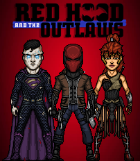 Red Hood and the Outlaws (DCCU) by LoganWaynee