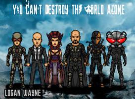 Legion of Doom by LoganWaynee