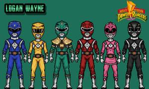 Mighty Morphin Power Rangers - Green Variation