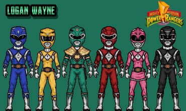 Mighty Morphin Power Rangers - Green Variation