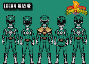 Mighty Morphin 'Green' Rangers
