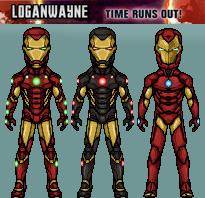 Iron Man - Illuminati (Time Runs Out) by LoganWaynee