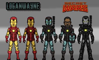 War Machine (Secret Wars) by LoganWaynee