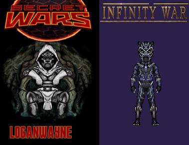 Secret and Infinity Wars by LoganWaynee