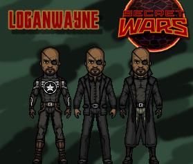 Nick Fury (Secret Wars) by LoganWaynee