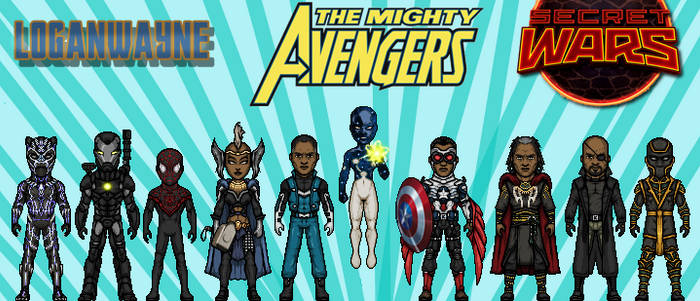 Black Panther's Mighty Avengers (Secret Wars)