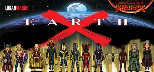 Earth X (Secret Wars) by LoganWaynee