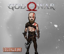 God of War (PS4) by LoganWaynee