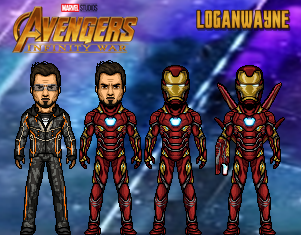 Iron Man (Infinity War) by LoganWaynee