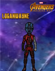 Nebula (Infinity War) by LoganWaynee