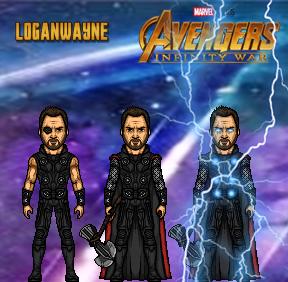Thor (Infinity War) by LoganWaynee