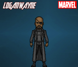 Nick Fury (MCU) by LoganWaynee
