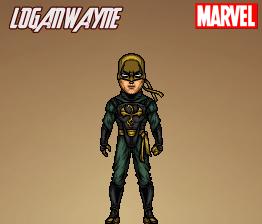 Iron Fist (Marvel: Ultimate Alliance 2) by LoganWaynee