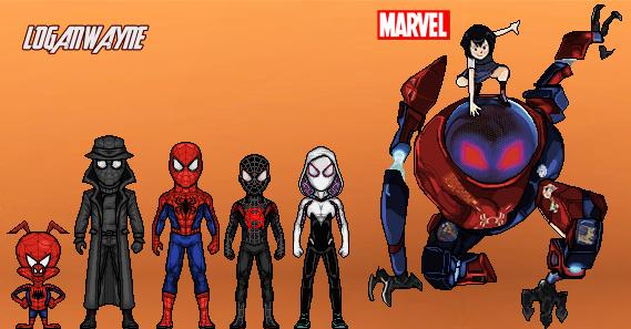 Spider-Man: Into the Spider-Verse by LoganWaynee