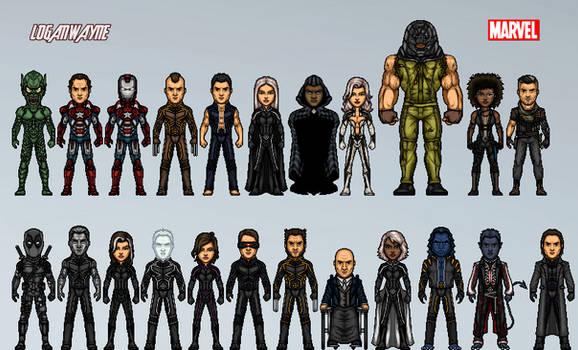 Marvel Cinematic Amalgam Universe #3