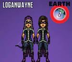Huntress (Earth 2) by LoganWaynee