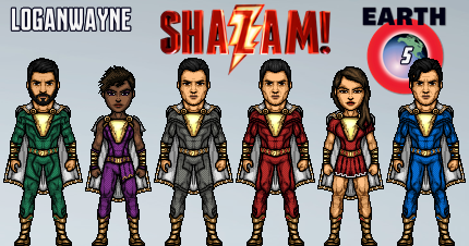 Shazam Family (DCEU) by LoganWaynee