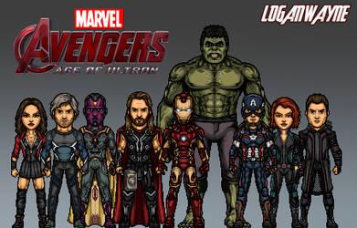 Avengers: Age of Ultron (MCU) by LoganWaynee