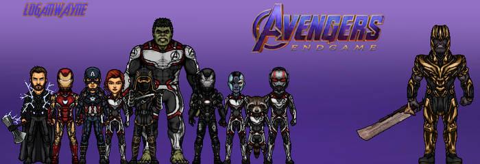 Avengers: Endgame by LoganWaynee