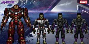 Hulk/Professor Hulk (Avengers: Endgame) by LoganWaynee