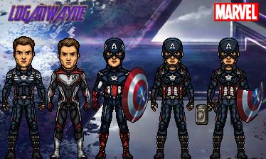 Captain America (Avengers: Endgame) by LoganWaynee