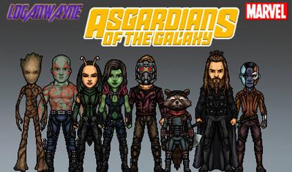 Marvel CAU #?.? Asgardians of the Galaxy by LoganWaynee