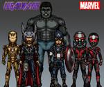 Marvel CAU #5.2 Avengers Founders by LoganWaynee