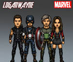 Marvel CAU #5.3 Avengers - Cap's Kooky Quartet by LoganWaynee