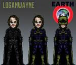 The Joker - Batman Imposter - Nolanverse (Earth 5) by LoganWaynee