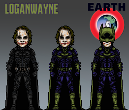 The Joker - Batman Imposter - Nolanverse (Earth 5) by LoganWaynee