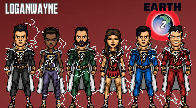 Shazam Family (Earth 2)