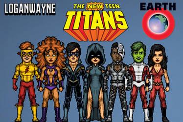 New Teen Titans - 80's