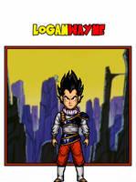Vegeta - Yardrat - DBS Manga by LoganWaynee